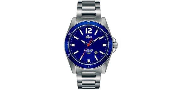 Pánske hodinky s modrým ciferníkom Lacoste