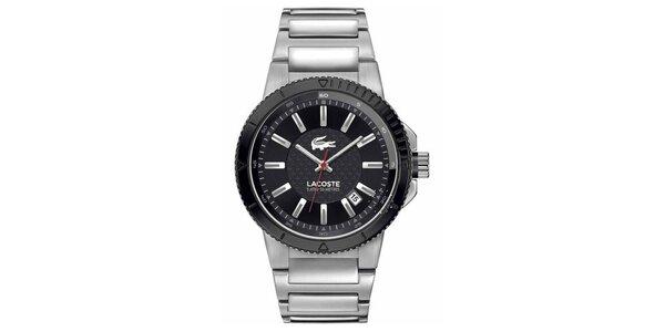 Pánske strieborné hodinky Lacoste