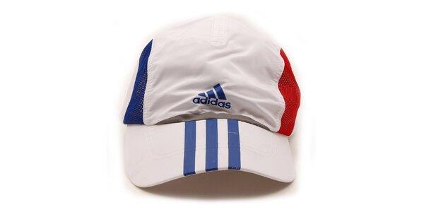 Pánska bielo-modro-červená šiltovka Adidas