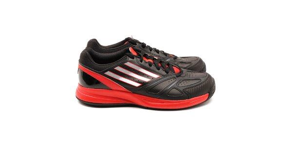Pánske červeno-čierne tenisky Adidas
