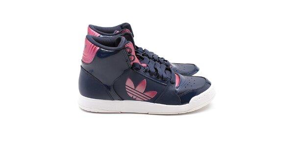 Dámske tmavo modré členkové tenisky Adidas
