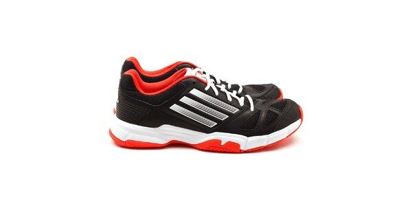 Pánske oranžovo-čierne tenisky Adidas