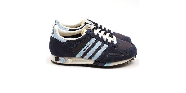 Dámske modré tenisky Adidas