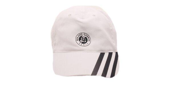 Bielo-čierna šiltovka Adidas