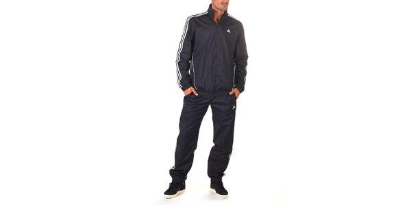 Pánska čierno-biela športová súprava Adidas