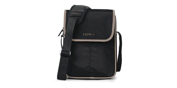 Čierna taška na tablet Esprit