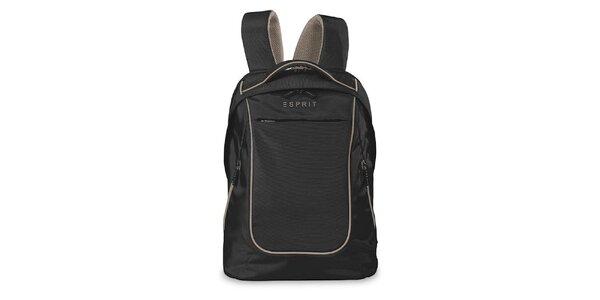 Čierny ľahký ruksak Esprit