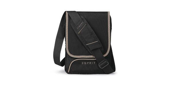 Čierna taštička na tablet Esprit