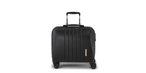 Cestovný čierny business kufor na kolieskach Esprit