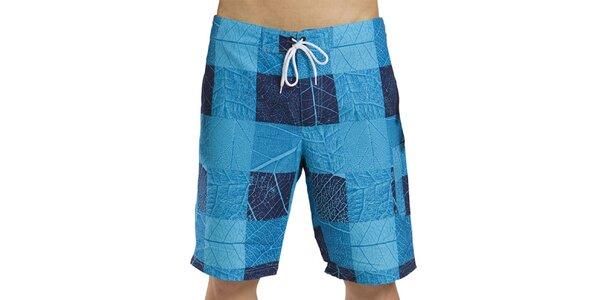 Pánske modré šortky s listami Alpine Pro