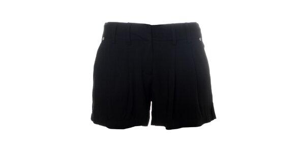 Dámske čierne šortky Santa Barbara