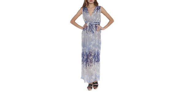 Dámske dlhé vzorované šaty Angel Eye