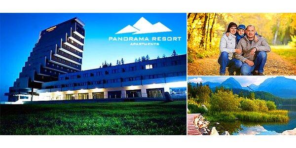 Luxusný relax na Štrbskom Plese v Panorama Resort**** so zvýhodnením pre deti