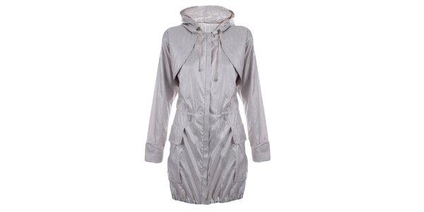Dámsky svetlo šedý kabát Pietro Filipi