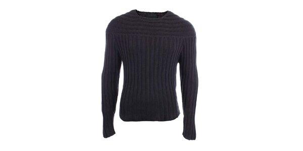 Pánsky sveter s plastickým vzorom Pietro Filipi