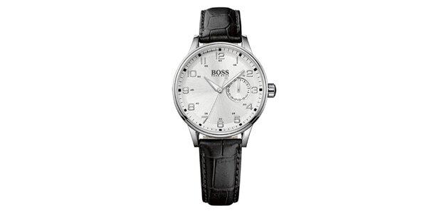 Dámske analógové hodinky s koženým remienkom Hugo Boss