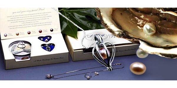 Set šperkov s perlou prianí