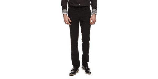 Pánske čierne nohavice s vreckami Dewberry