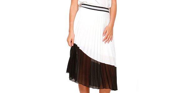 Dámska čierno-biela sukňa Dewberry