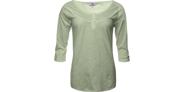 Dámske svetlé olivové tričko Bushman