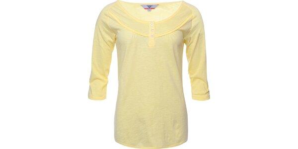 Dámske svetlo žlté tričko Bushman