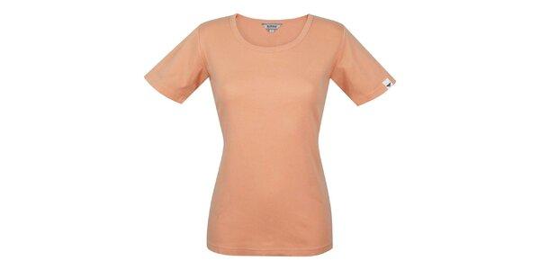 Dámske oranžové tričko s krátkym rukávom Bushman