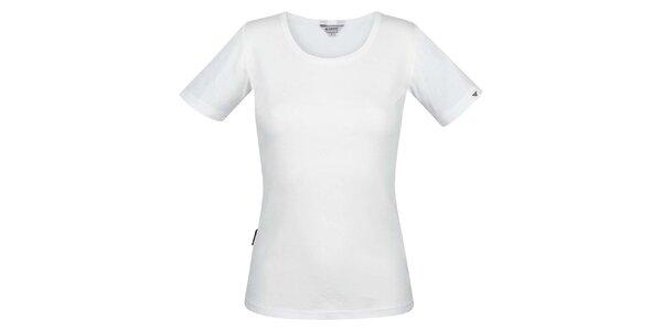 Dámske biele tričko s krátkym rukávom Bushman