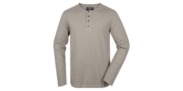 Pánske tričko s dlhým rukávom Bushman