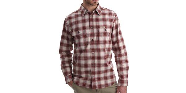 Pánska červeno kockovaná košeľa Bushman
