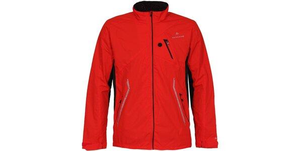 Pánska červená outdoorová bunda Bergson
