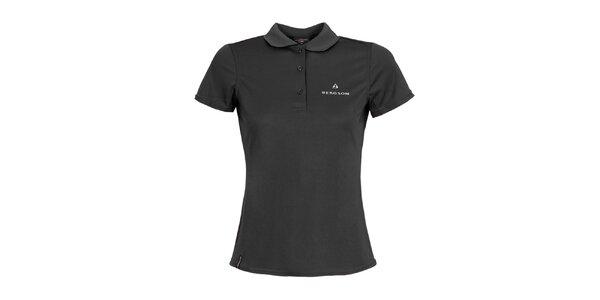Dámske čierne polo tričko Bergson