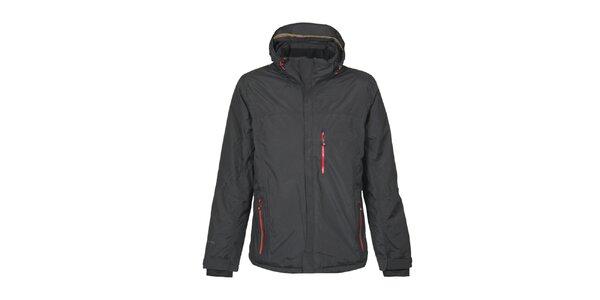 Pánska čierna funkčná outdoorová bunda v dvoch farbách Bergson