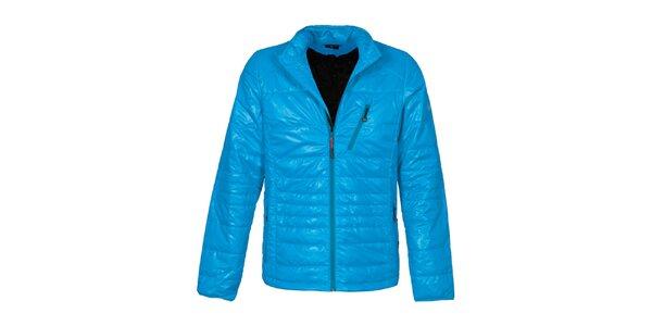 Pánska modrá prešívaná bunda Bergson