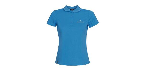 Dámske modré funkčné polo tričko Bergson