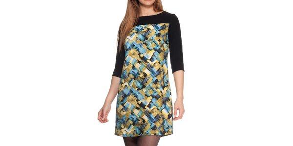 Dámske farebné vzorované šaty Peace&Love