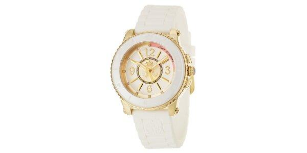 Dámske hodinky s gumovým remienkom Juicy Couture