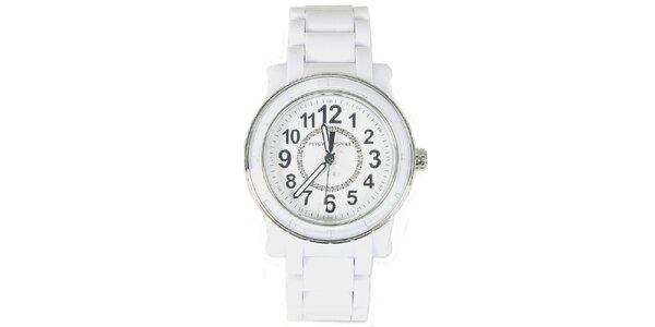 Dámske biele analógové hodinky Juicy Couture