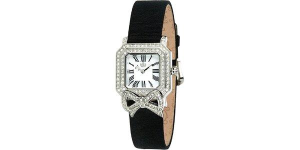 Dámske hodinky s hranatým ciferníkom Juicy Couture