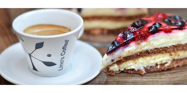 Espresso a dezert pre dvoch