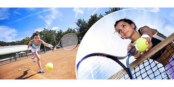 Prenájom antukového tenisového kurtu