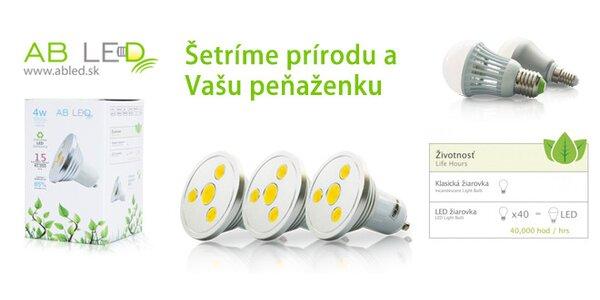 AB LED žiarovky pre váš domov podľa výberu