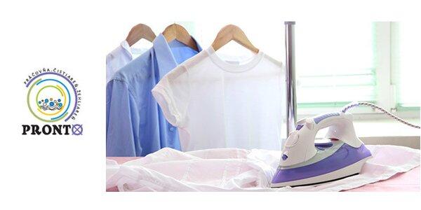 Kupón s 50% zľavou na služby čistiarne PRONTO
