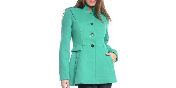 Dámsky zelený krátky kabát Vera Ravenna