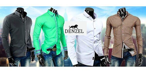 Štýlové pánske košele Denzel