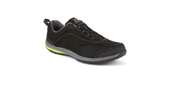 Pánske čierne športové topánky Clarks