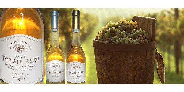 Výberové tokajské vína