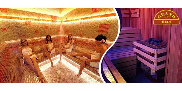 Relaxačný wellness v hoteli GRAND v Žiline
