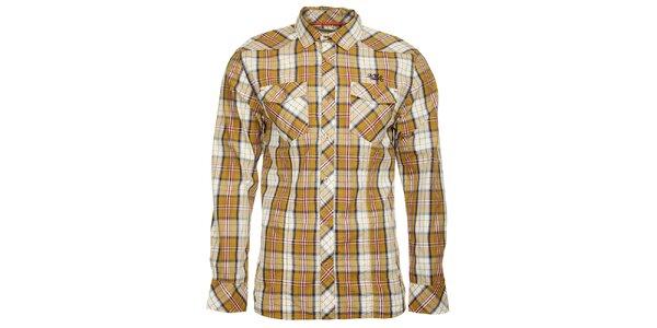 Pánska kockovaná košeľa s dlhým rukávom Timeout