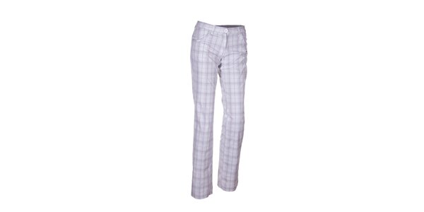 Dámske kockované golfové nohavice Envy