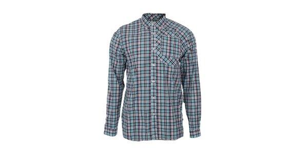 Pánska kockovaná košeľa s náprsným vreckom Big Star